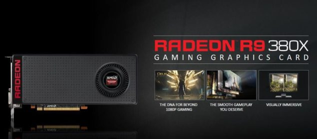 AMD Radeon R9 380X Graphics Card