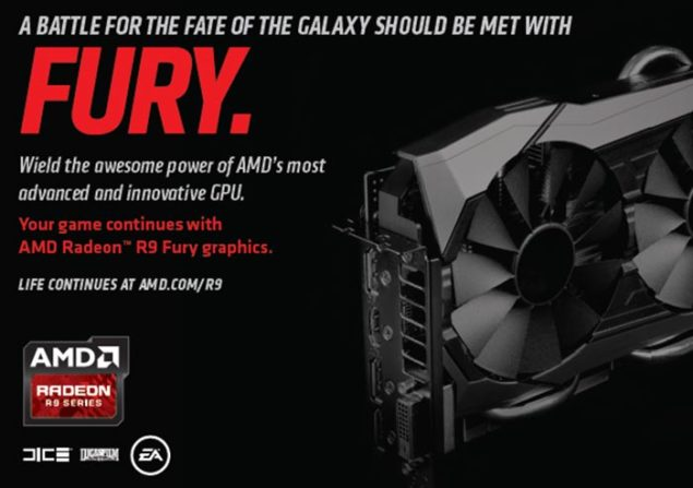AMD Radeon R9 Fury Bundle Star Wars