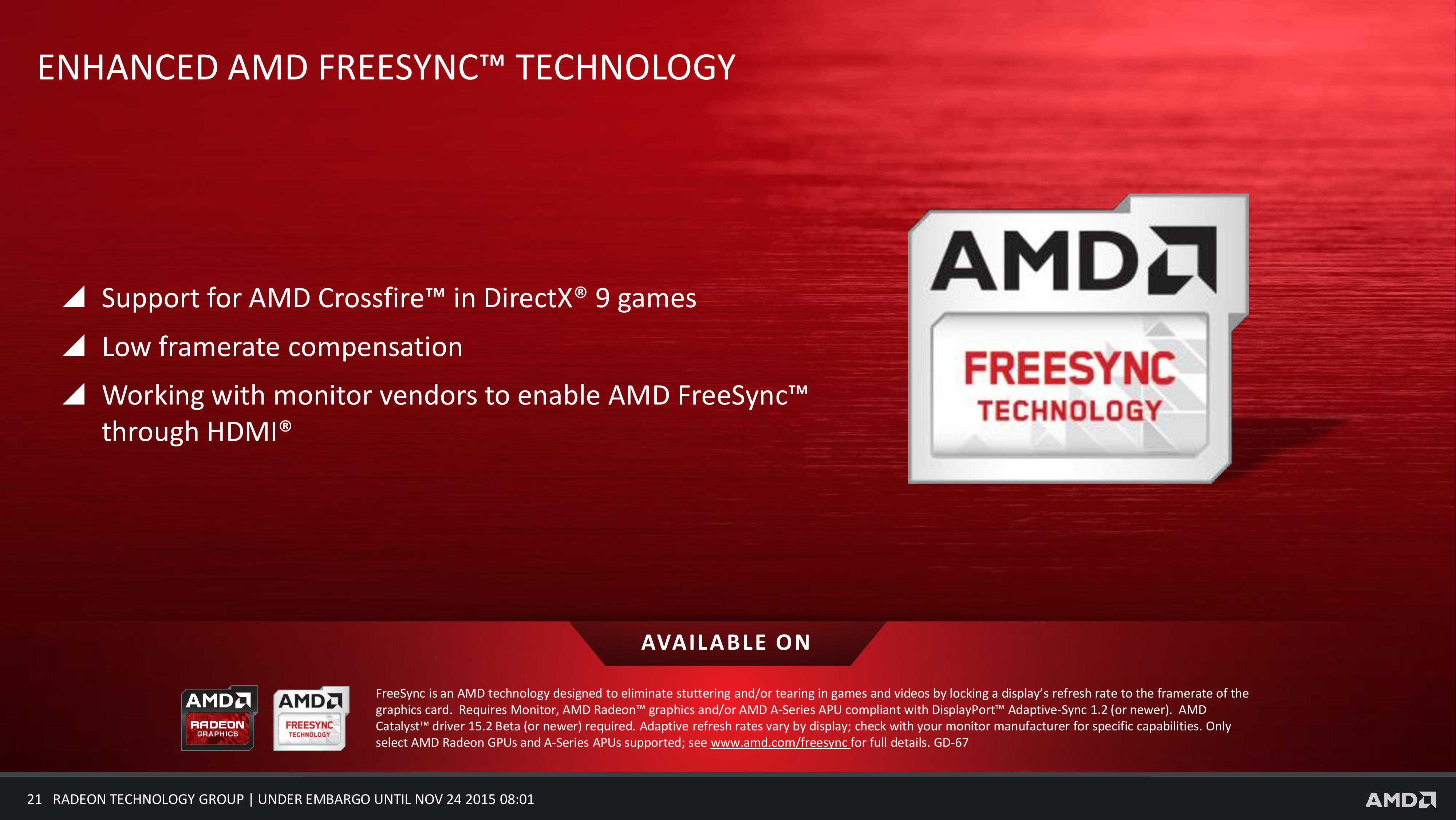 AMD Radeon Software Crimson Edition Released – Faster, Smarter