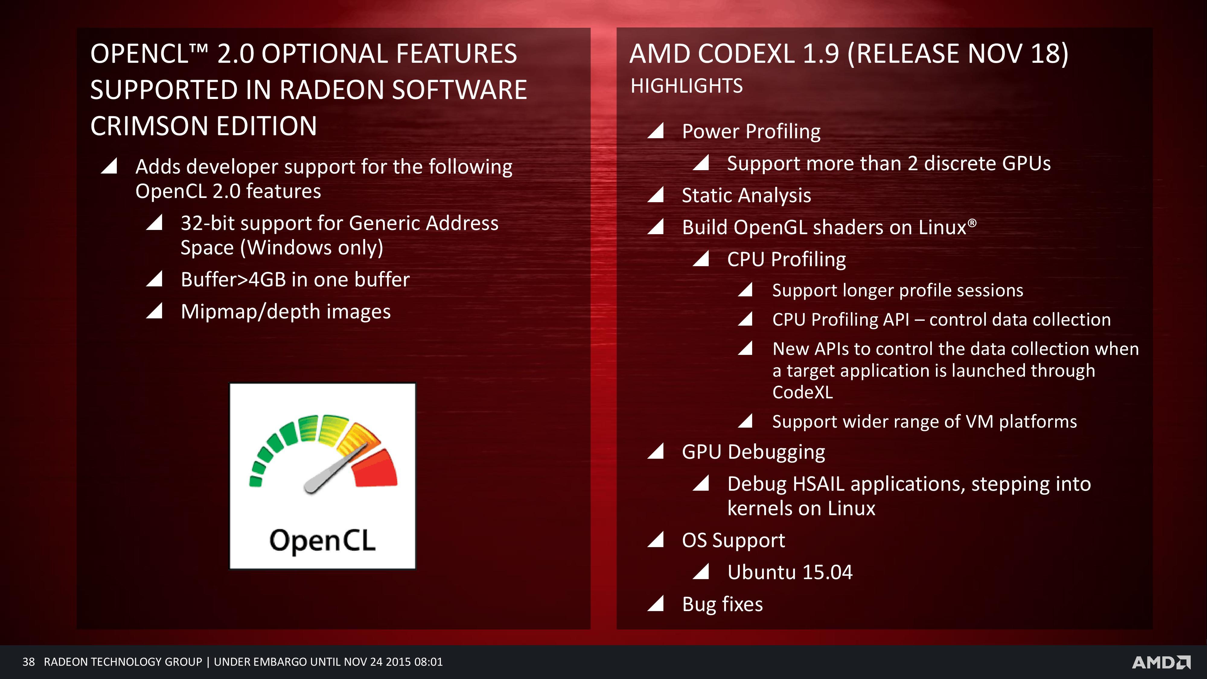 AMD Radeon Software Crimson Edition Released – Faster, Smarter