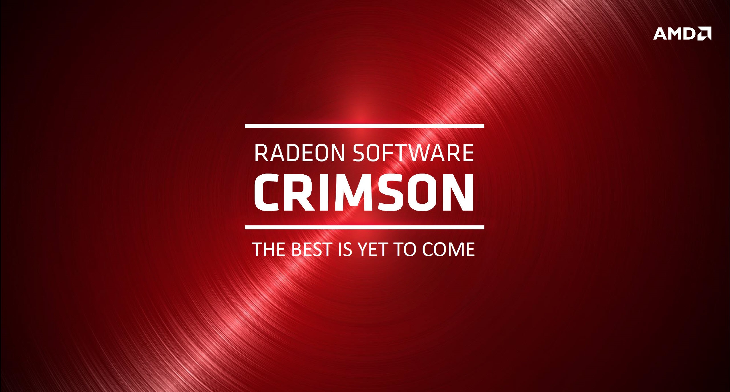 AMD Radeon_Crimson Driver_Best is yet to come