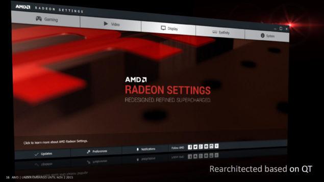 AMD Radeon_Crimson Driver_Panel