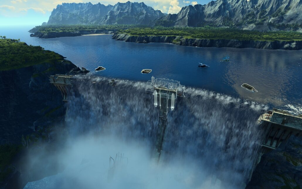 Anno 2205 02 - Waterfall