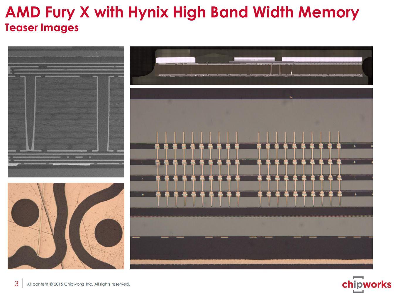 AMD HBM Die TSV X-Ray ChipWorks