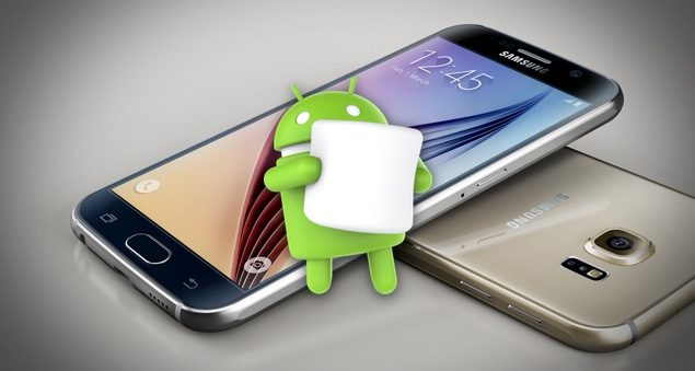 Android Marshmallow Update For Samsung Galaxy