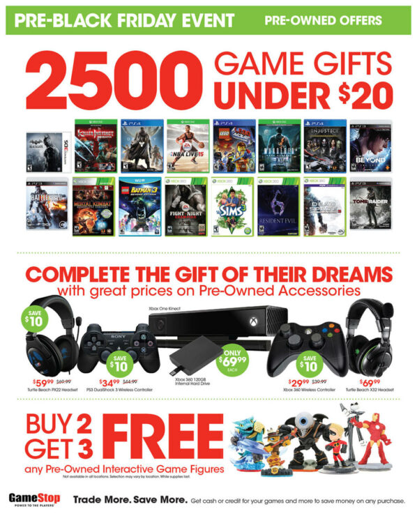 You shop at GameStop to save on games, consoles and other electronics, but some of the best discounts are available around the holidays. Use these tips to find the best GameStop Black Friday and Cyber Monday deals.