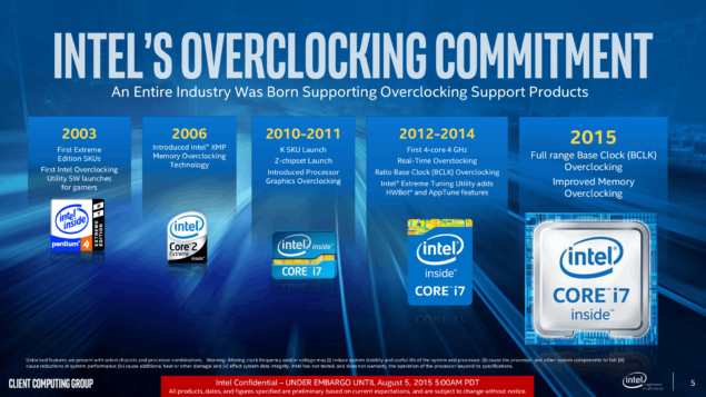 Intel Kaby Lake Overclocking