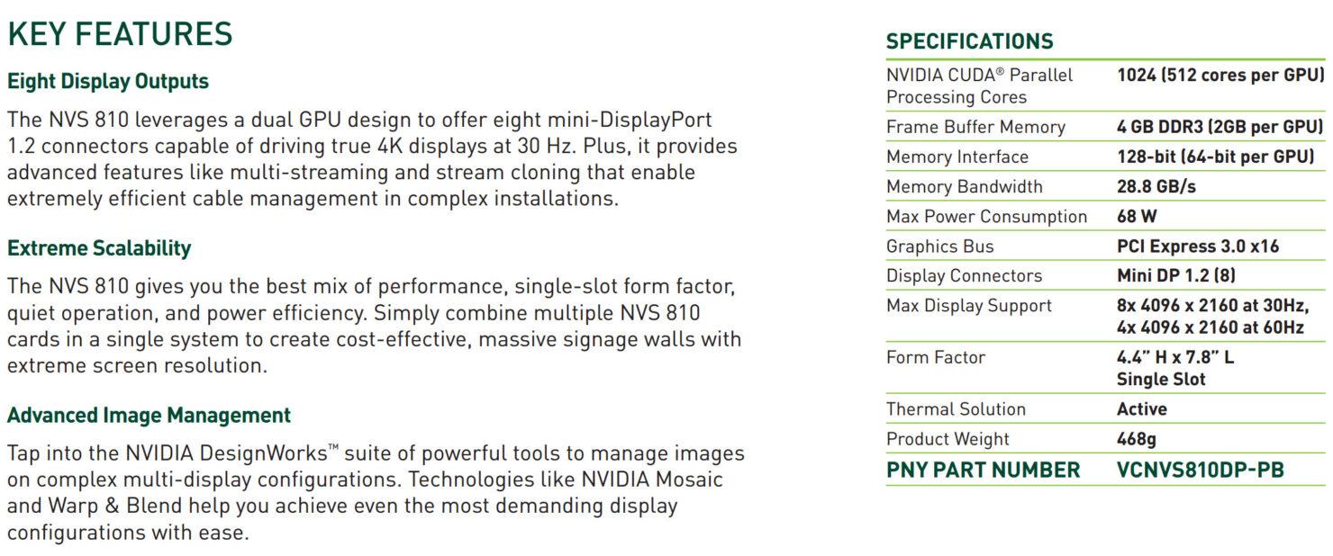 nvidia-nvs-810_features