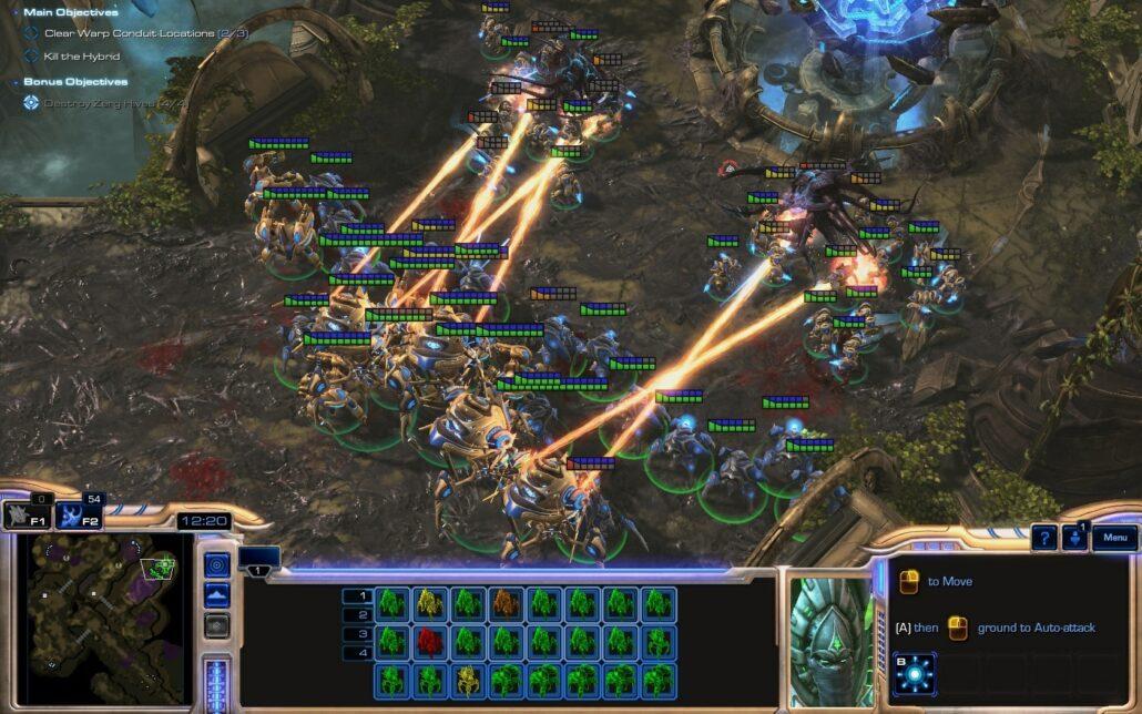 Starcraft II LOTV 01 - Lasers