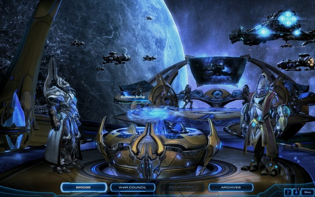 Starcraft II LOTV 03 - The Bridge