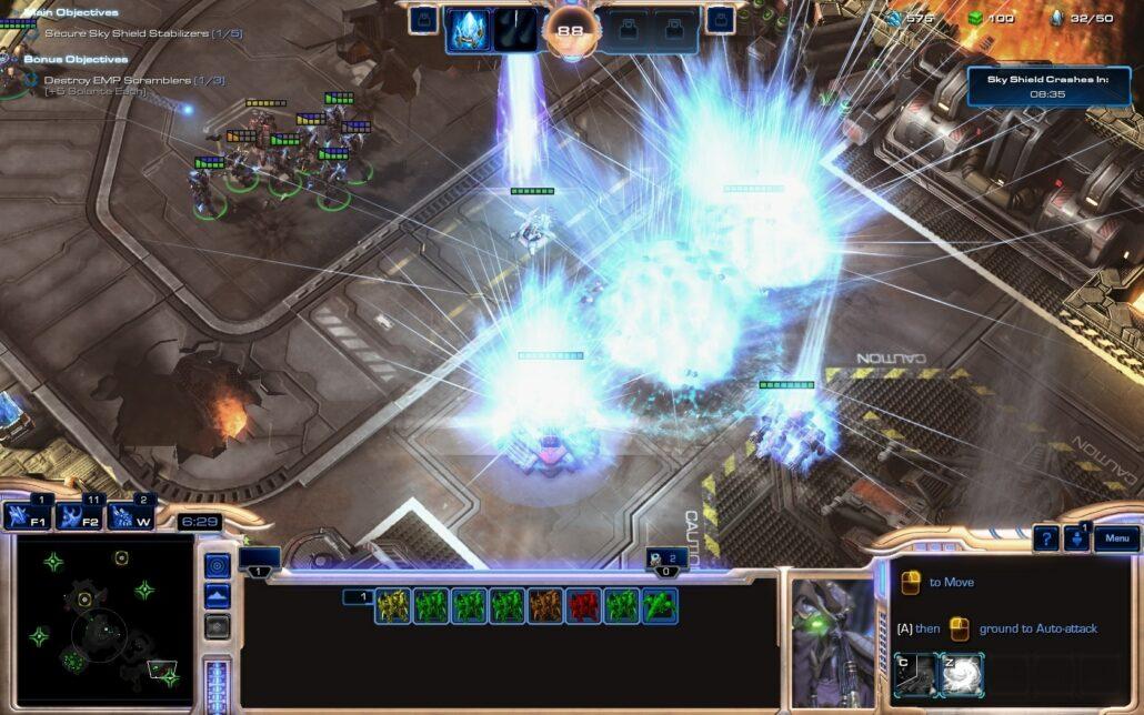 Starcraft II LOTV 04 - Orbital Bombard