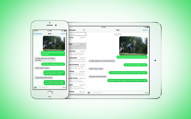 iMessage deregister