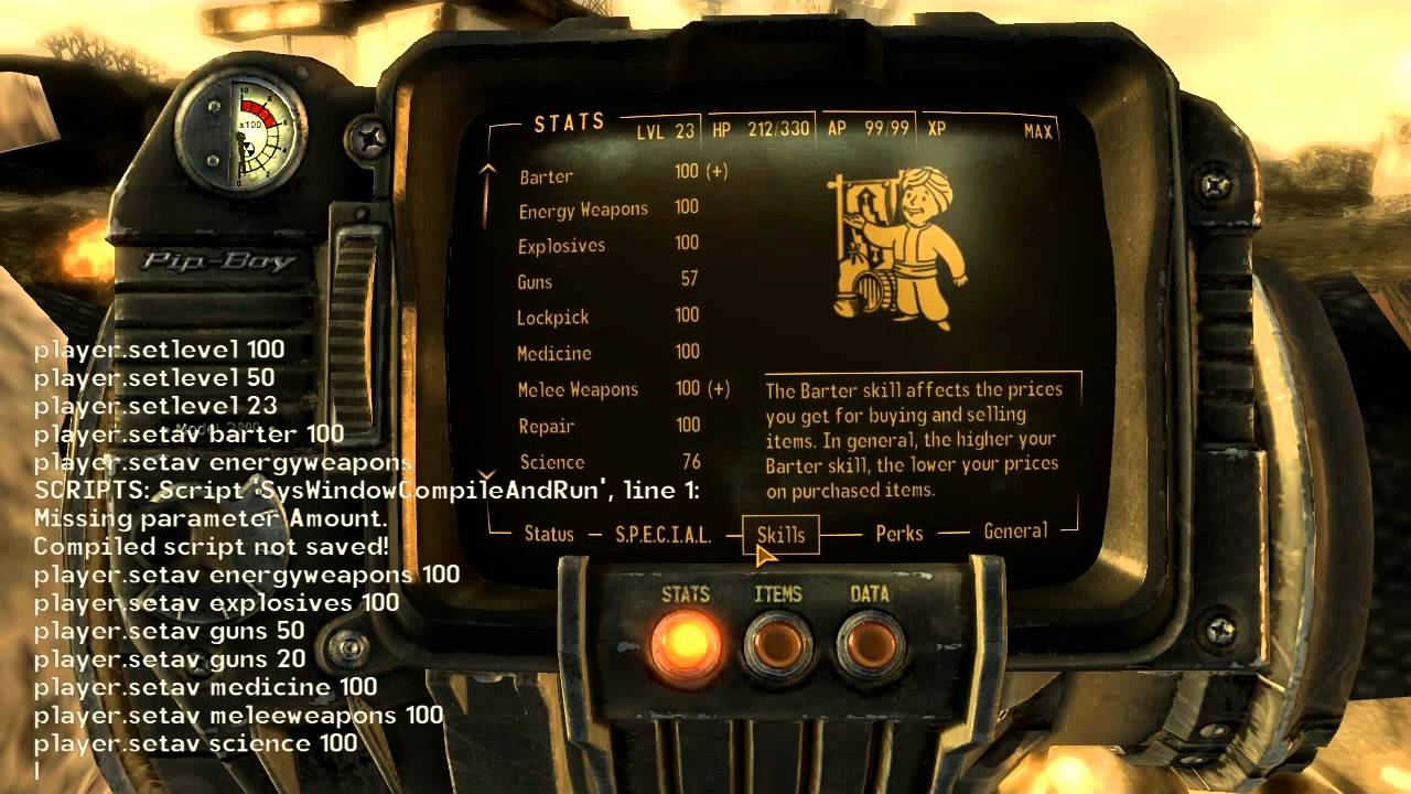 Fallout 4 Console Commands Unsupported, Can Mess Up Save ...