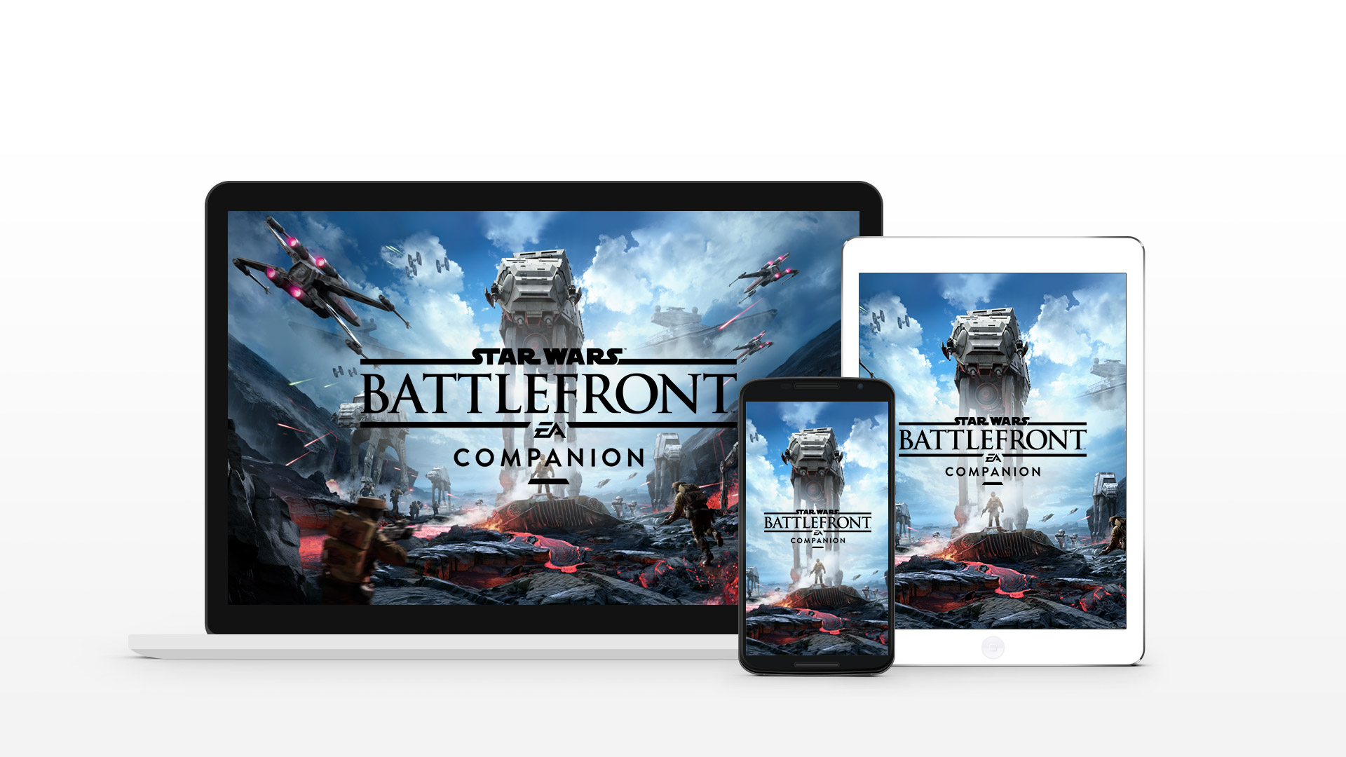 star wars battlefront app available for ios & android