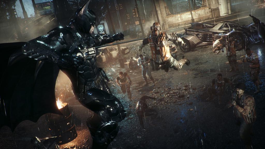 Next-gen Batman Arkham Knight Xbox Series X S Update