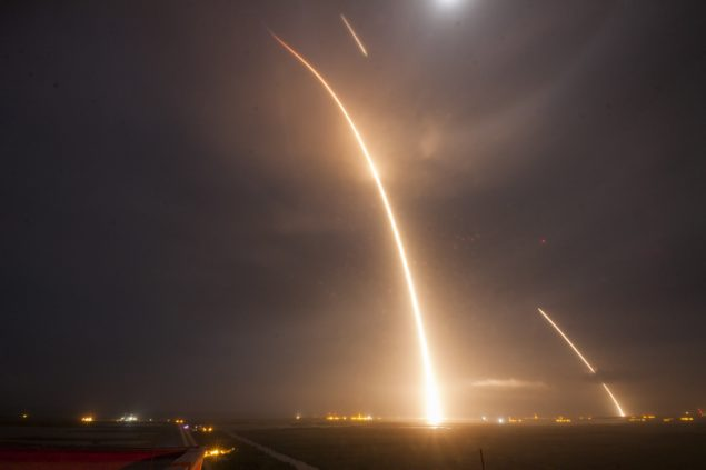Falcon9 SpaceX Timelapse 2015