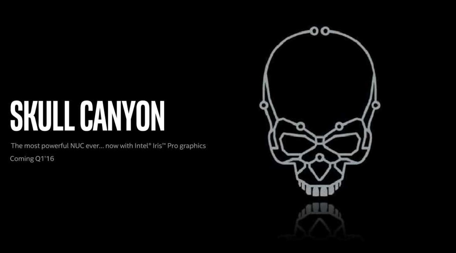 Intel Confirms Skull Canyon Platform At Ces 2016