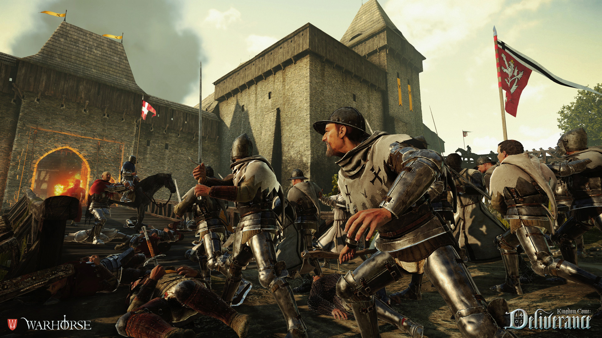 kingdom come deliverance pc update 1.4 and free hd texture & audio
