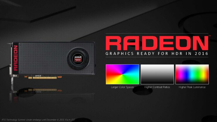 AMD Bringing Better Pixels to PC, HDR and Larger Color Space