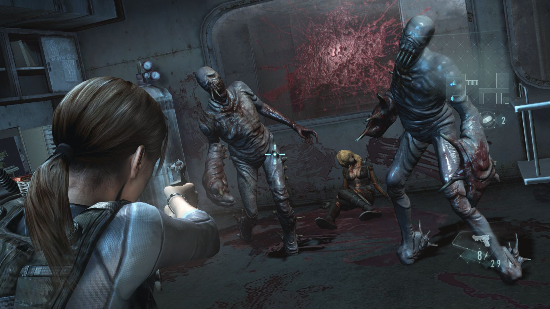Image result for Resident Evil Revelations Collection  switch screenshots