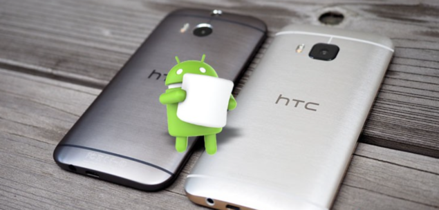 update HTC One M8 to Android 6