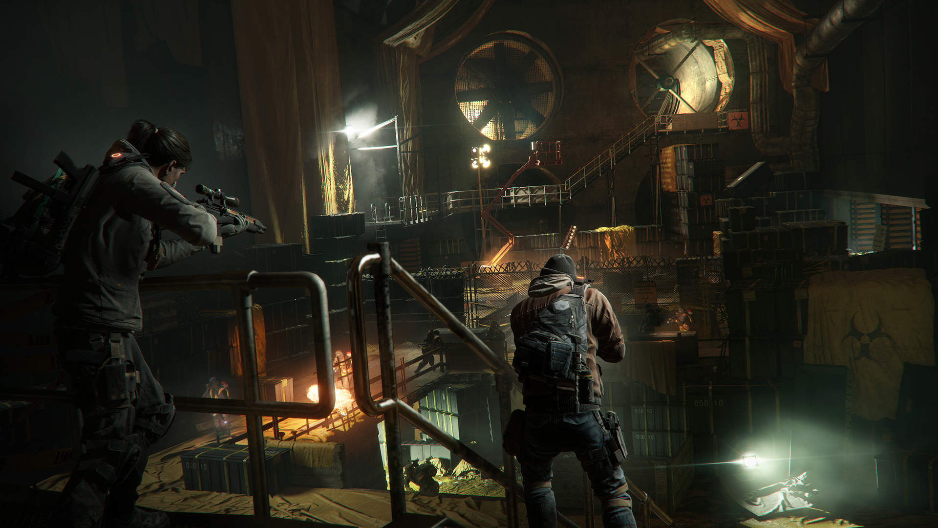 The Division Features PBR Dynamic GI With Real-Time Bounce Lighting From Completely Dynamic Light Sources & The Division Features PBR Dynamic GI With Real-Time Bounce ... azcodes.com