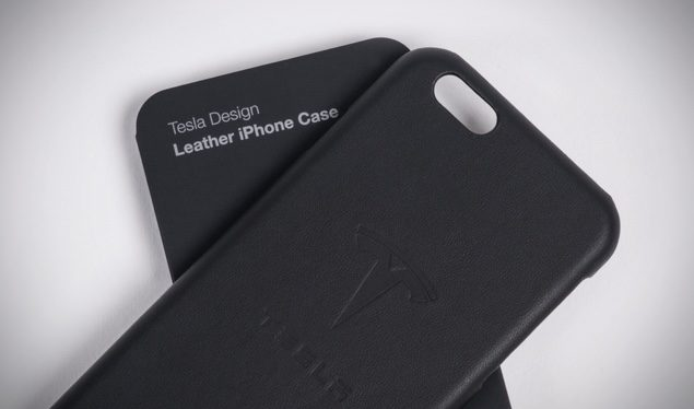 new arrivals f5a6c 3e5fd Tesla Starts Selling High Quality Leather iPhone 6 / 6s Cases