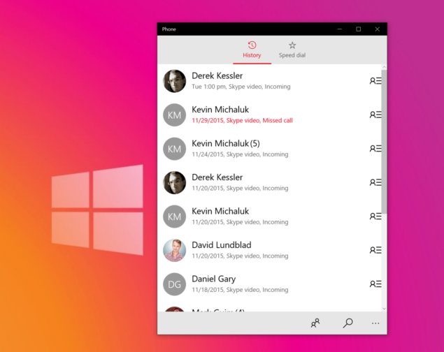 windows 10 phone app