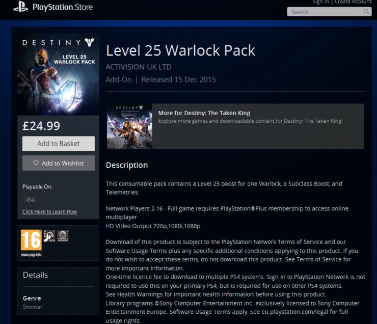 warlockpack