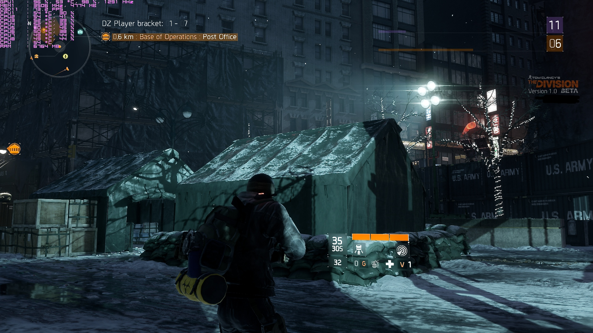 new the division pc screenshots maxed out 1080p hbao. Black Bedroom Furniture Sets. Home Design Ideas