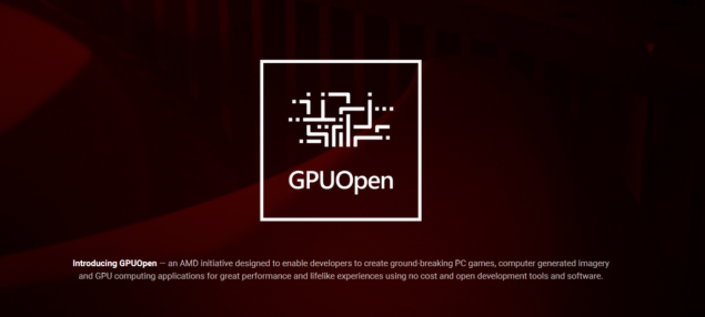 AMD GPUOpen Launch