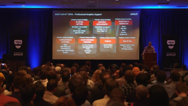 AMD VRLA Winter Expo Keynote