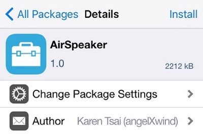 AirSpeaker AirPlay