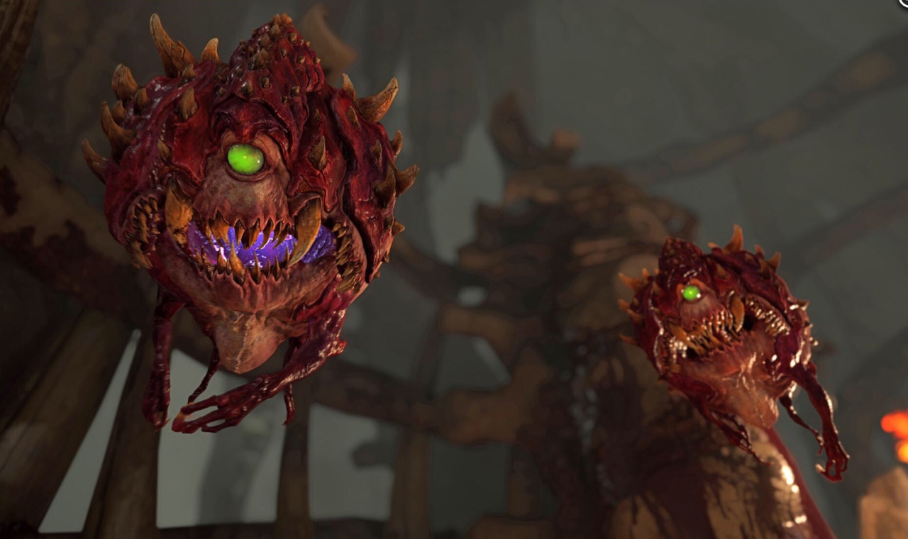 DOOM New Weapons, Enemies Revealed, Closed Alpha Screens Shared