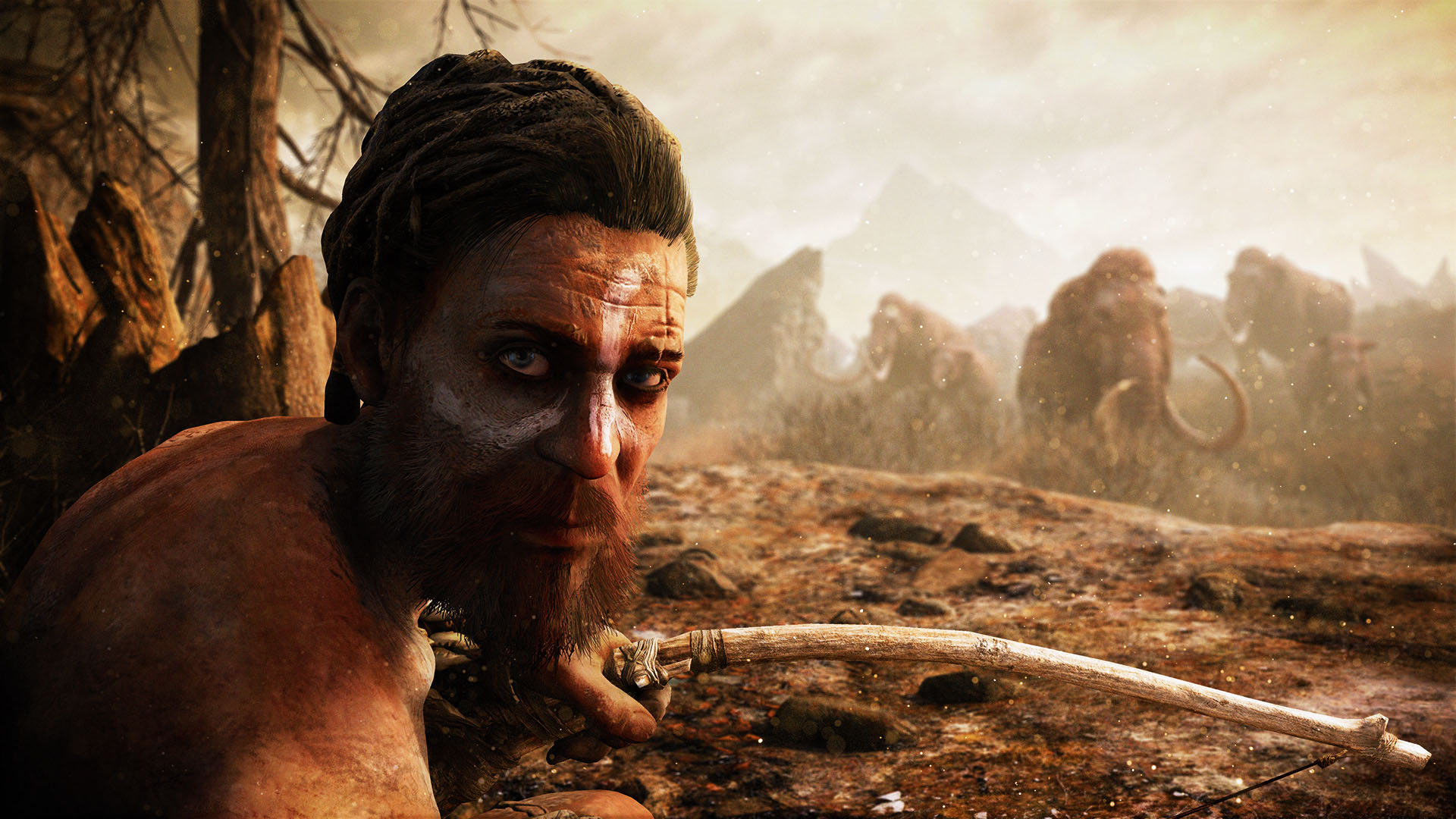 Far Cry Primal New Trailer Showcases Legend Of The Mammoth Dlc