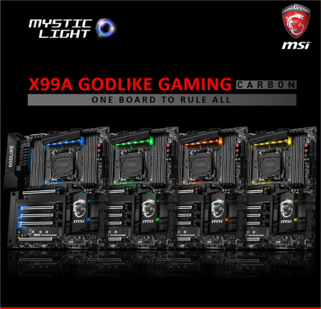 MSI X99A Godlike Gaming Carbon RGB