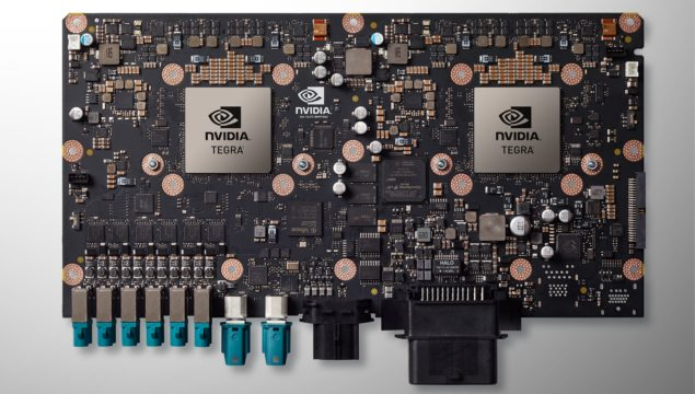 NVIDIA Drive PX 2 Pascal Powered Module