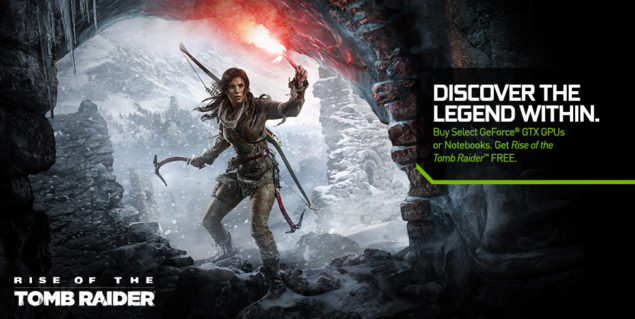 NVIDIA Rise of the Tomb Raider Bundle