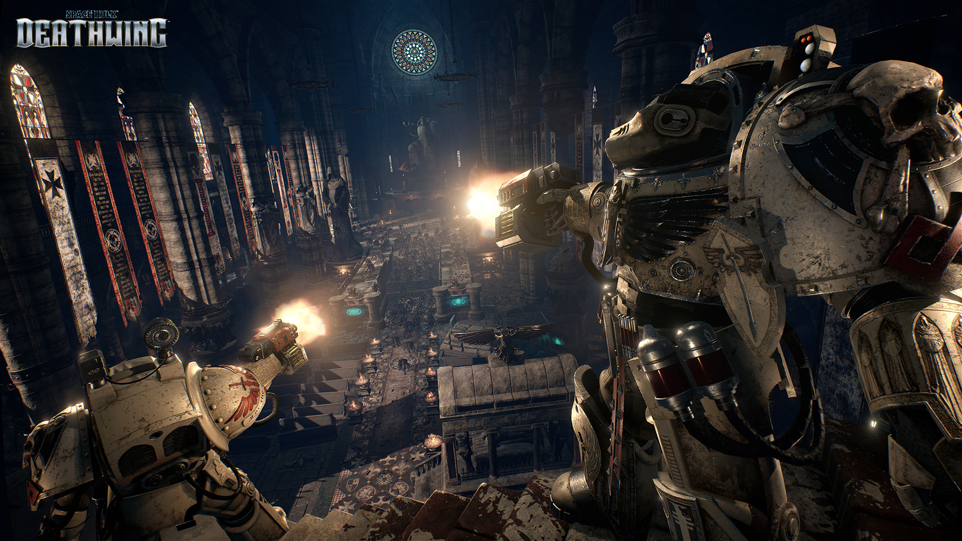 Here's Your First Look at Space Hulk: Deathwing Gameplay