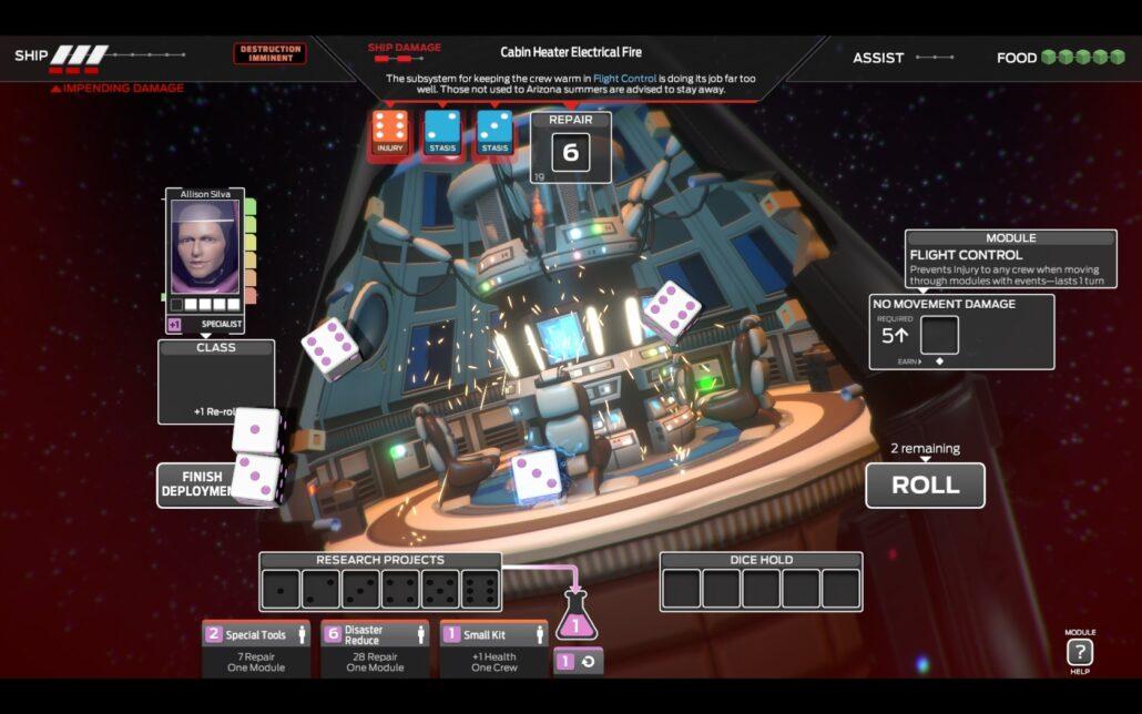 Tharsis 01 - Flight Control