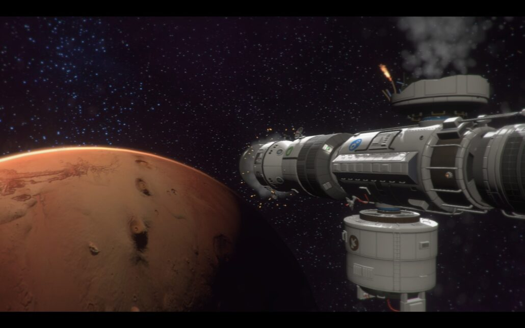 Tharsis 04 - To Mars