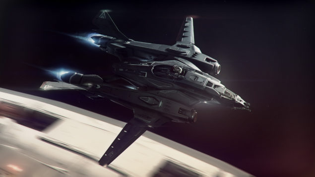 The Vanguard - Long Range Fighter/Bomber