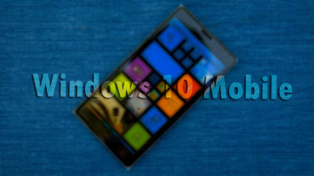 Leaked Windows 10 Mobile redstone