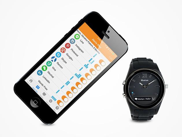 Save 72 On Martian Notifier Classic Smartwatch