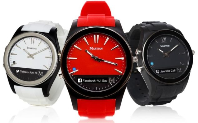 martian notifier smartwatch