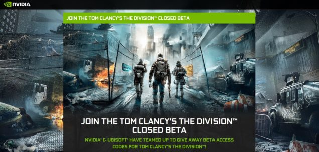 nvidia division free closed beta key