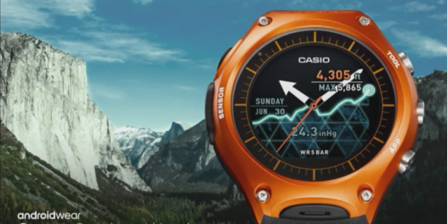 Casio Smartwatch casio smart outdoor watch