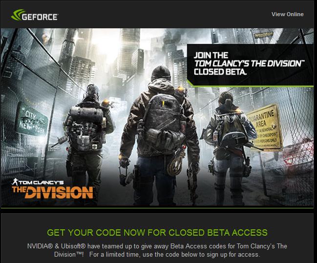 The Division Code Einlösen