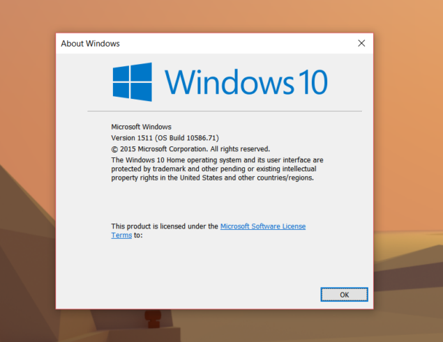 windows 10 cumulative