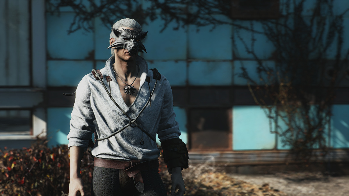 Fallout 4 Mod Brings The Witcher 3 Gear To The Wasteland